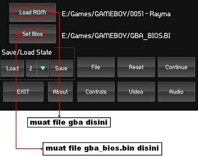 Untuk pengaturan contrrollernya / settingan key / settingan tombolnya ...