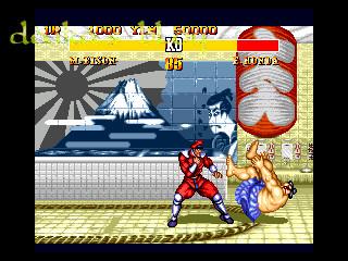 Street fighter 2 - sega genesis